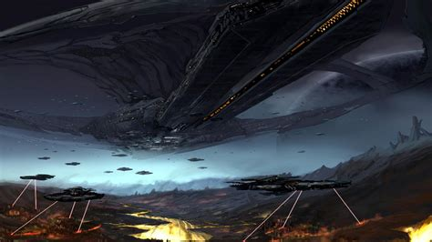 wallpaper abyss sci fi spaceship wallpaper and background 1600x900 id 400363