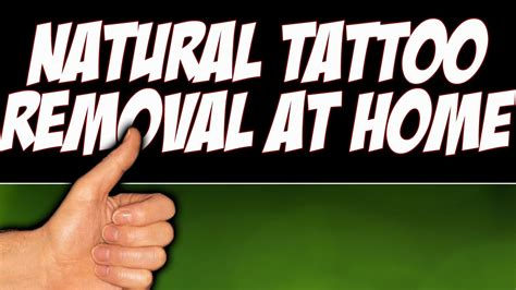tattoo removal at home ingredients removal at home home removal with