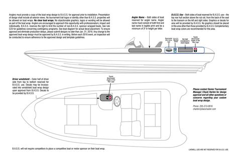yacht layout template pro spective new boat wraps and jerseys bassmaster