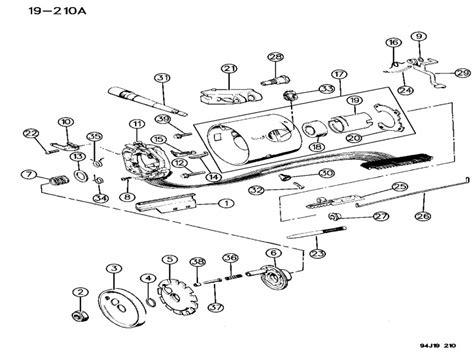 1995 Jeep Wrangler Steering Column Diagram