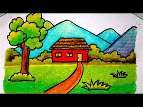 contoh storytelling untuk anak sd terbaru cara mudah gambar rumah sederhana untuk anak sd gambar mewarnai