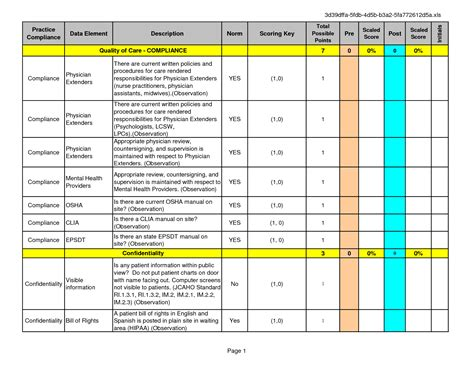 Paper Patient Chart Template