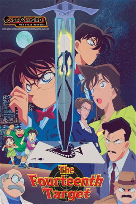 Detective Conan 2 detective conan 2 the fourteenth target anime planet