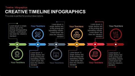 Creative Timeline Infographics Powerpoint And Keynote Template Slidebazaar Creative Powerpoint Templates Free