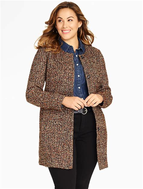 Talbots Gift Card Where To Buy - talbots fancy tweed jacket jackets woman