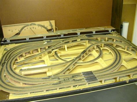 Model Layout Plans 4x8 model railroad track plans 4x8 scale 4x8 layout http