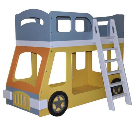 bus bed double decker bus bunk bed