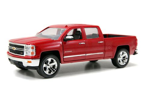 ebay trucks chevy silverado pickup truck red jada just trucks 97018