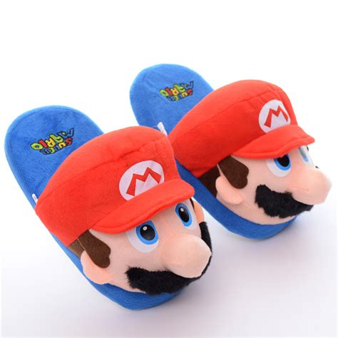 mario brothers slippers mario slippers 28 images boys mario bros slippers blue