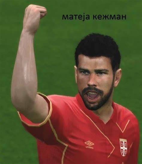 mateja kezman mateja kezman face for pes 2016 by stefan5 pes patch