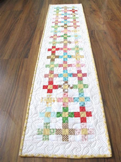 Creative Patchwork - 37 cool easter table runner ideas table decorating ideas