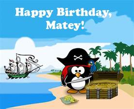 pirate penguin birthday free ecards greeting cards