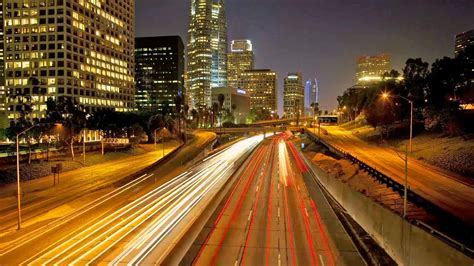 time lapse los angeles traffic time lapse california la hour