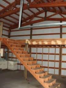Pole Barn With Loft Plans 22 Ac Creek Shop