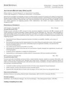 Collection Clerk Sle Resume by Accounts Receivable Collection Cover Letter