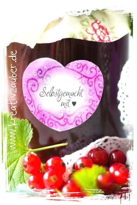 marmeladenetiketten kostenlos ausdrucken kreativ zauber
