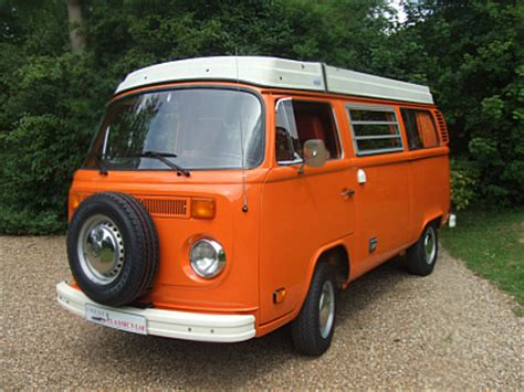 orange volkswagen van sold