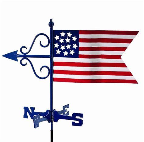 american banner weathervane american flag weathervane