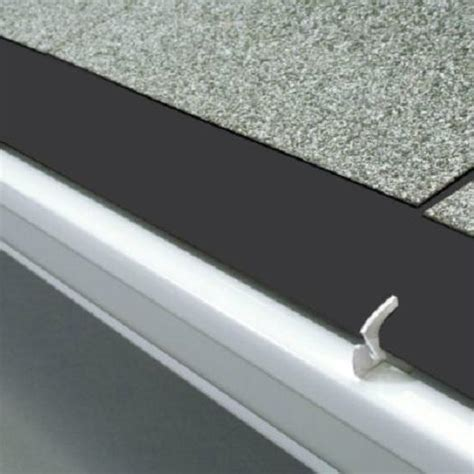 black gutter hooks 12 outdoor aluminum gutter guards with gray white brown black ebay
