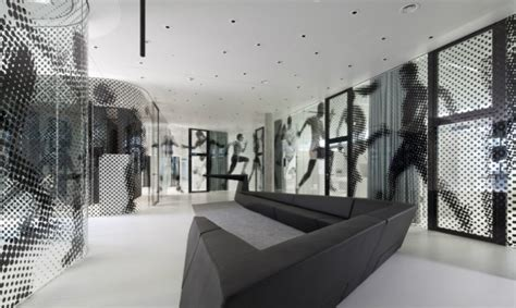Lace Interior Design by Adidas Laces Signage And Interior Design Segd