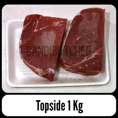 daging sapi topside  rendang  lemak beku