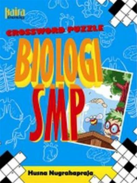 Daftar Jadwal Pelajaran Puzzle Karakter bukukita crossword puzzle biologi smp