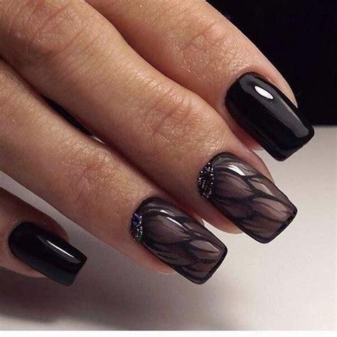 black nail art designs 50 black nail art designs nenuno creative