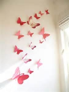 15 3d paper butterflies 3d butterfly wall by