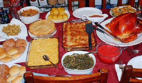 Traditional Thanksgiving Dinner Southern Style