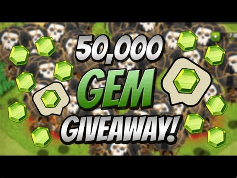 Clash Of Clans Google Play Gift Card - clash of clans 300 itunes google play gift cards giveaway may 2015 closed youtube