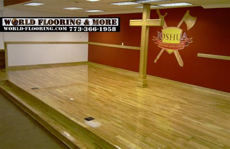 Floor World by New Hardwood Flooring And Stairs In A Beautiful Chicago