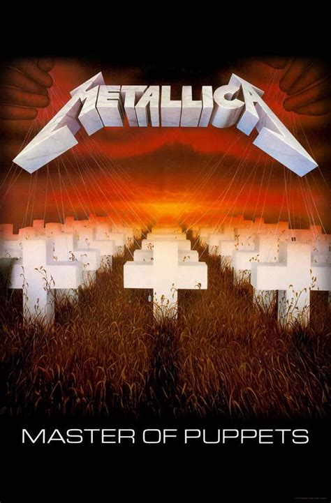 Master Of Puppets Metallica Master Of Puppets Nuclear Blast