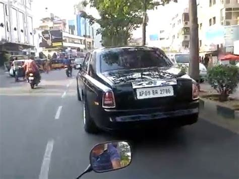 roll royce hyderabad rolls royce phantom in hyderabad doovi