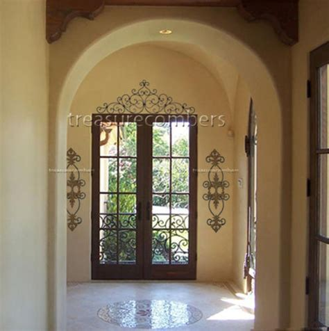 Metal Decorations For Doors by 38 Best Images About Door Toppers On Wrought