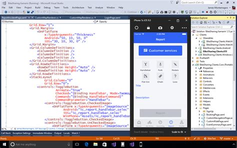 visual studio android xamarin for visual studio build mobile apps in c for ios android mac and windows