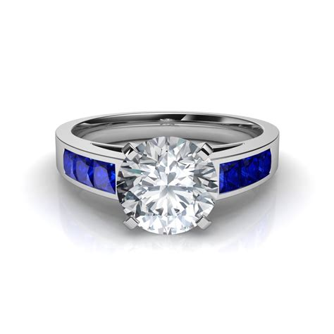 Sapphire Blue Ring awesome and blue sapphire wedding sets