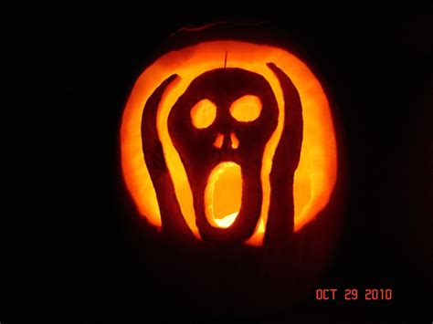 the scream pumpkin templates hamilton s