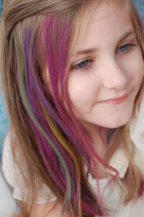 pictures of people who colored their hair with loreal feria b16 people are letting kids dye their hair and the internet