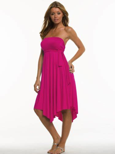 Pm Fushie Dress Fn s formal special occasions pink fuschia convertible dress or skirt 4