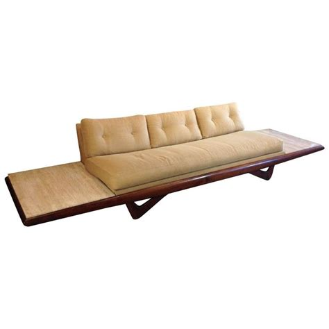 atomic mid century modern sofa by adrian pearsall