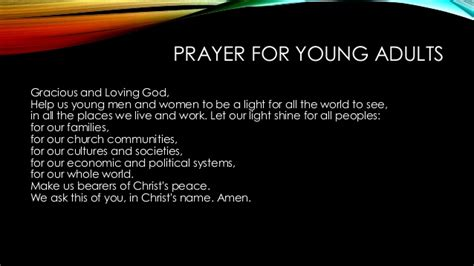 church of christ prayers