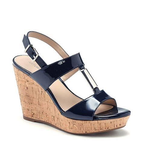 arturo chiang sandals arturo chiang peri wedges dillards navy sandals