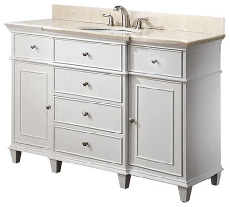 White Vanity Cabinets by White Bathroom Vanity
