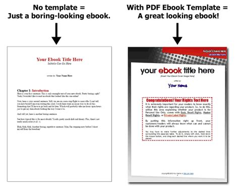 pdf ebook templates template collection for open office