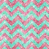 Teal And White Chevron Wall | 600 x 600 jpeg 489kB