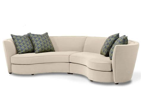 Custom Curved Shape Sofa Avelle 232 Fabric Sectional Curved Fabric Sofa
