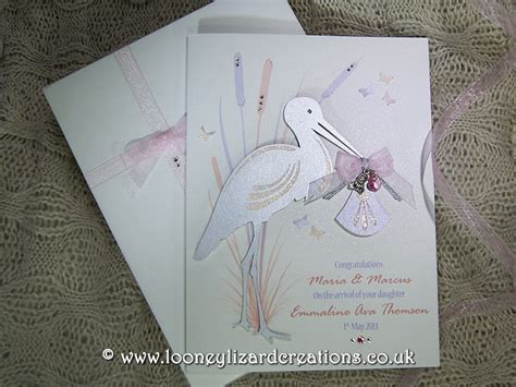 Special Handmade Cards - special delivery luxury handmade new baby card