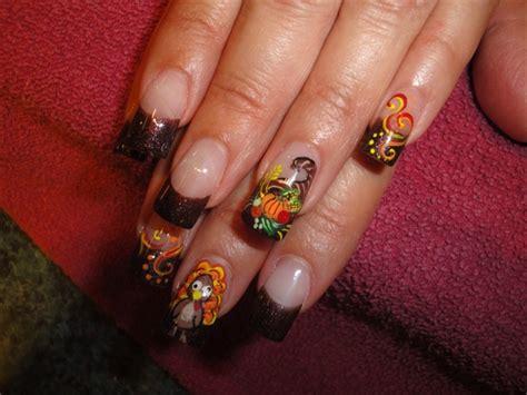 thanksgiving nail art inspiring thanksgiving nail designs