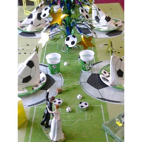 set de table foot id 233 e d 233 coration de table foot partytime