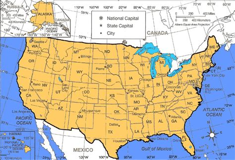 lat map united states of america usa einfon